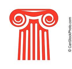 Column vector icon