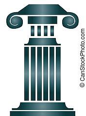 columna, edificio