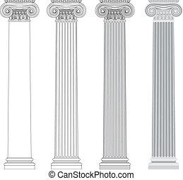 columna iónica