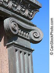 columna, iónico