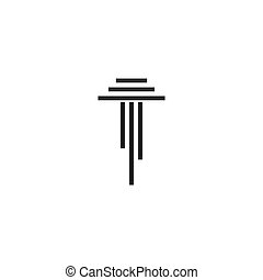 columna, logotipo