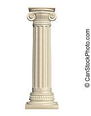 columna, piedra