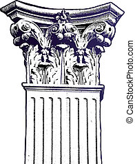 columna, vector