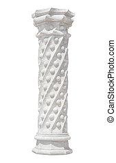 columna, viejo