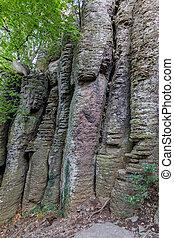 Columnar basalt