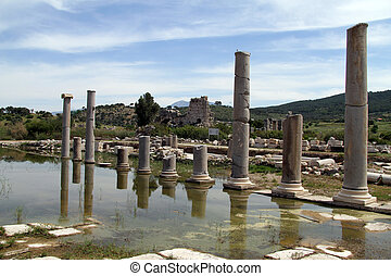 Columns abnd ruins