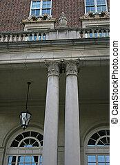 Columns and Brick