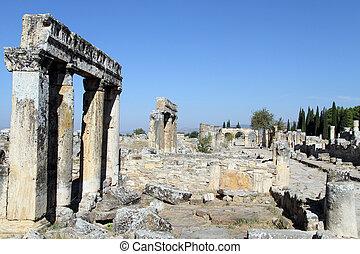 Columns and ruins