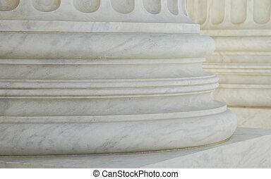 Columns - close up of marble columns