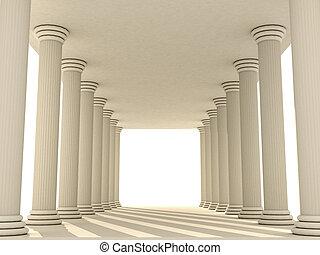 columns  - columns