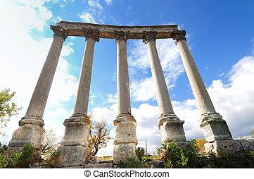 columns detail