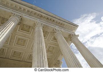 columns of Roman ruins
