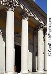 Columns of St. Luigi Church, Milan