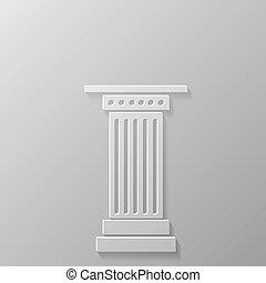 coluna, ícone