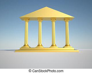 colunas roman