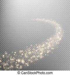 comète, espace, eps, 10, tail.