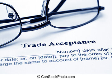 comércio, aceitação