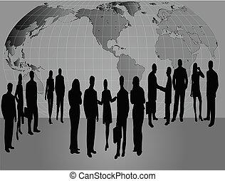comércio pessoas