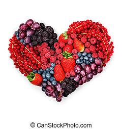 com, amor, para, berries.