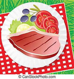 com, legumes