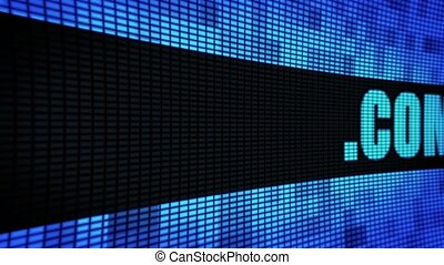 .com Side Text Scrolling LED Wall Pannel Display Sign Board...