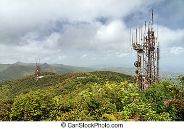 Com towers Puerto Rico