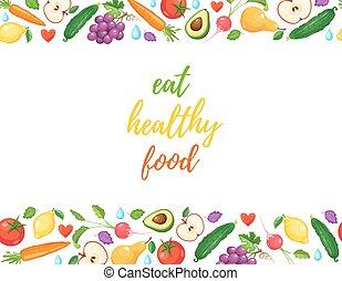 coma sano, alimento