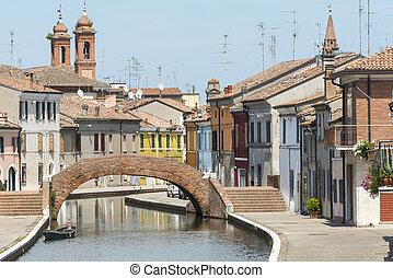 Comacchio (Italy) - Comacchio (Ferrara, Emilia-Romagna,...
