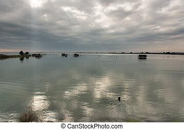 comacchio, lagune