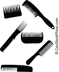 Comb collection - vector
