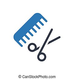 comb glyph color icon