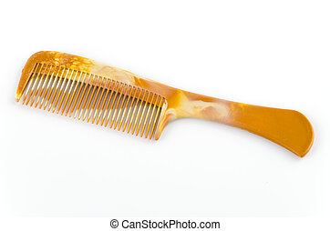 Comb isolated on white background