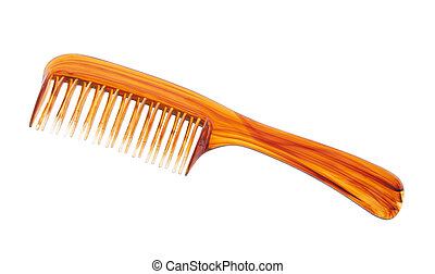 Comb with clipping path