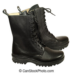 Combat boot - military boots - Statutory army high boots...