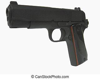 Combat Commander4 - A 45 caliber semi automatic made by Colt...
