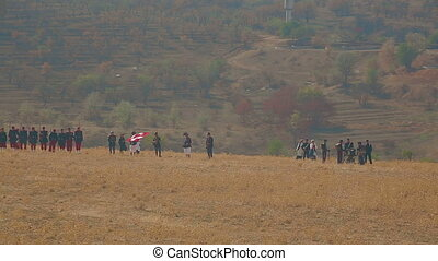 Combat demonstration