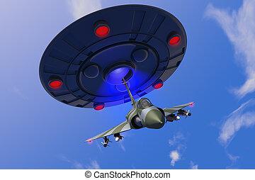 Combat jet