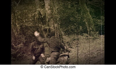 Combat Special Forces training - Old film, documentary....