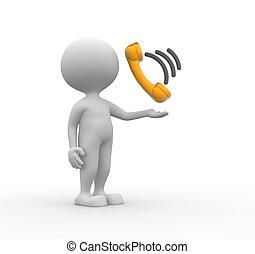 combiné, téléphone
