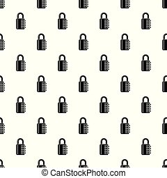 Combination lock pattern vector seamless