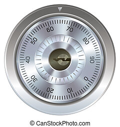 Combination lock with keyholes - Combination lock with ...