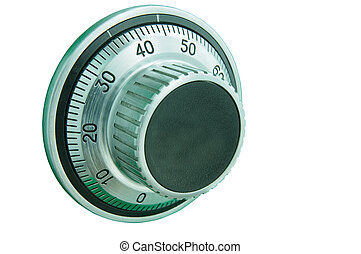 Combination safe lock dial