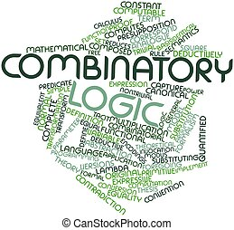 combinatory, mot, nuage, logique
