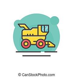Combine harvester concept