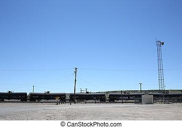 combustible, tren