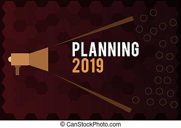 começar, conceito, fim, texto, objetivos, posicionar, termo, longo, significado, planificação, letra, 2019., mente