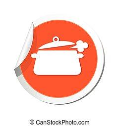 comedor, icono