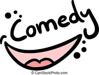 Comedy draw - Creative design of comedy draw