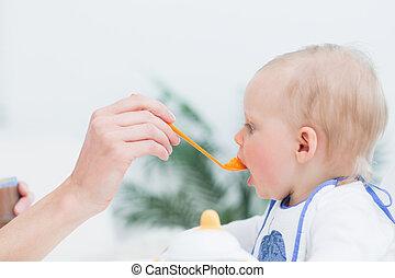 comer, bebê