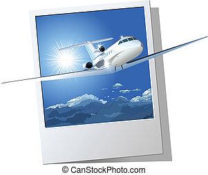comercial avião